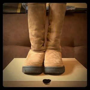 UGG Rare Ultimate Tall Braid Boots